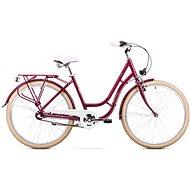 ROMET TURING 3S violet - Dámsky mestský bicykel