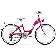 "ROMET PANDA 24 pink - Detský bicykel 24"""