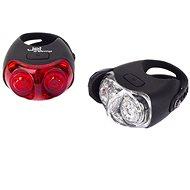 Romet JET 999124  2 LED/USB - Bicycle light