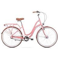 "ROMET POP ART 26 pink veľ. S/17"" - Mestský bicykel"