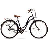 "ROMET POP ART 26 black veľ. M/19"" - Mestský bicykel"