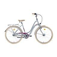 "ROMET POP ART 26 grey veľ. M/19"" - Mestský bicykel"