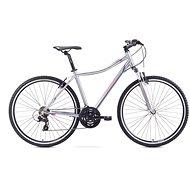 """ROMET ORKAN D White - Violet veľ. S/15"""" - Dámsky crossový bicykel"""