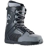 Topánky na snowboard Robla Smooth Black/Grey veľkosť 38 EU/240 mm