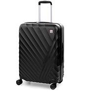 Modo by Roncato, RAINBOW, 66 cm, 4 kolieska, čierny - Cestovný kufor s TSA zámkom