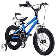 """RoyalBaby Freestyle 14"""" modrý - Detský bicykel"""