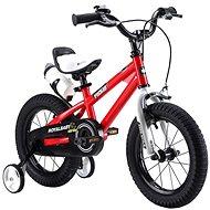 """RoyalBaby FREESTYLE červená - Detský bicykel 14"""""""