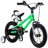 """RoyalBaby FREESTYLE zelený - Detský bicykel 16"""""""