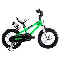 """RoyalBaby Freestyle 12"""" zelená - Detský bicykel"""