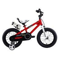"""RoyalBaby Freestyle 12"""" červený - Detský bicykel"""