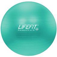 Lifefit anti-burst tyrkysová - Gymnastická lopta