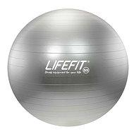 Lifefit anti-burst strieborný - Gymnastická lopta