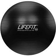 Lifefit anti-burst čierna - Gymnastická lopta