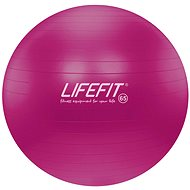 Lifefit anti-burst 65 cm, bordó - Gymnastická lopta