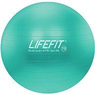 Lifefit anti-burst 75 cm, tyrkysová - Gymnastická lopta