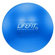Lifefit anti-burst 75 cm, modrá - Gymnastická lopta