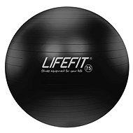 Lifefit anti-burst 75 cm, čierna - Gymnastická lopta