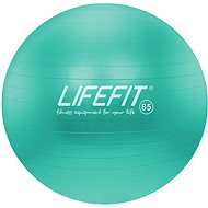 LIFEFIT anti-burst 85 cm, tyrkysová - Gymnastická lopta