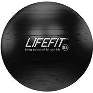 LIFEFIT anti-burst 85 cm, čierna - Gymnastická lopta