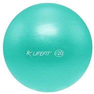 LifeFit OverBall tyrkysová - Gymnastická lopta