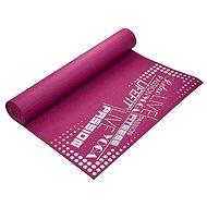 LifeFit Slimfit gymnastická bordová - Podložka