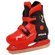 SPORTEAM KIDS čierno-červené veľ. 37 – 40 EU/235 – 260 mm - Detské korčule na ľad