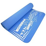 Lifefit Yoga Mat TPE modrá - Podložka na jogu