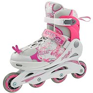 Roces Compy 6.0 Girl, White-Pink, size 38-41 EU/245-260mm - Roller Skates