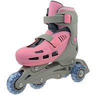 Rulyt Triskate Basic, ružové - Kolieskové korčule