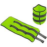 LIFEFIT členok/zápästie neoprénová  S2, 2× 4,0 kg, sv. zelená - Závažie