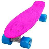 Sulov Neon Speedway ružovo-modro-biely - Plastový skateboard