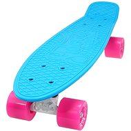 Sulov Neon Speedway sv.modrý-ružový - Plastový skateboard