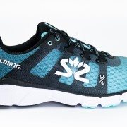 Salming enRoute 2 Women Aruba Blue/Black 40 2/3 EU/260 mm - Bežecké topánky