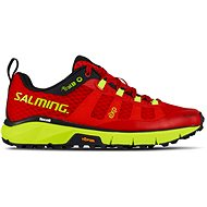 Salming Trail 5 Women Poppy Red/Safety Yellow - Bežecké topánky