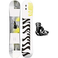 Salomon set THE VILLAIN GROM+RHYTHM - Snowboard komplet