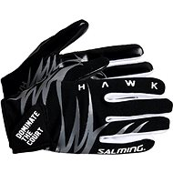 SALMING Hawk Gloves Black/Grey XL - Rukavice