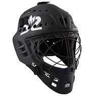 SALMING Phoenix Elite Helmet Black - Florbalová maska