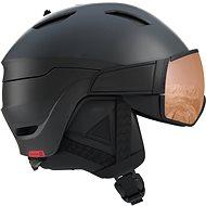 Salomon Driver S Bk/Red/Uni. T.Orange - Lyžiarska prilba