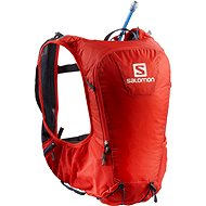 Salomon Skin Pro 10 Set Fiery Red/Graphite - Športový batoh