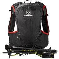 Salomon Skin Pro 10 Set Black/Bright Red - Športový batoh