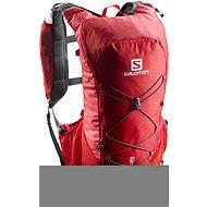 Salomon Agile 12 Set Barbados Cherry/Graphite - Športový batoh