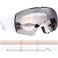 Salomon XT One White/Univ. SuperWhite - Lyžiarske okuliare