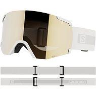 Salomon S/View Access White/Univ. Gold - Lyžiarske okuliare