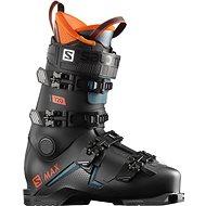 Salomon S/MAX 120 Black/Orange - Lyžiarske topánky