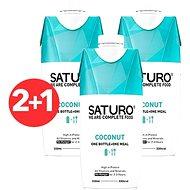 SATURO Coconut 2 + 1 zdarma - Trvanlivé jedlo
