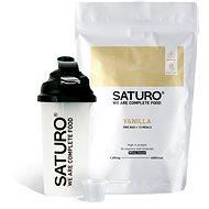 Saturo Prášok Starter Kit, Vanilka - Trvanlivé nutrične kompletné jedlo
