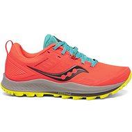 Saucony PEREGRINE 10 oranžové/žlté - Bežecké topánky