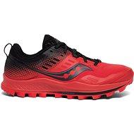 Saucony Peregrine 10 ST červené/čierne - Bežecké topánky