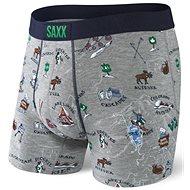 Saxx Vibe Boxer Brief grey mountain high - Boxerky