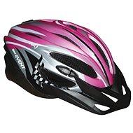 Udalosť ružová veľkosť M - Prilba na bicykel